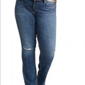 Silver jeans size 18 Elise bootcut